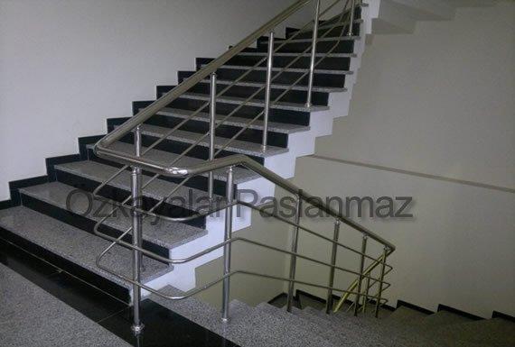 Paslanmaz Korkuluk Merdiven 2